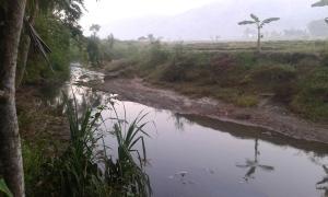 sungai di kampung